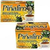 2 Pack Te Pinalim Tea GN+Vida Weight Loss Tea Diet (Color: Orange, Tamaño: 90g)