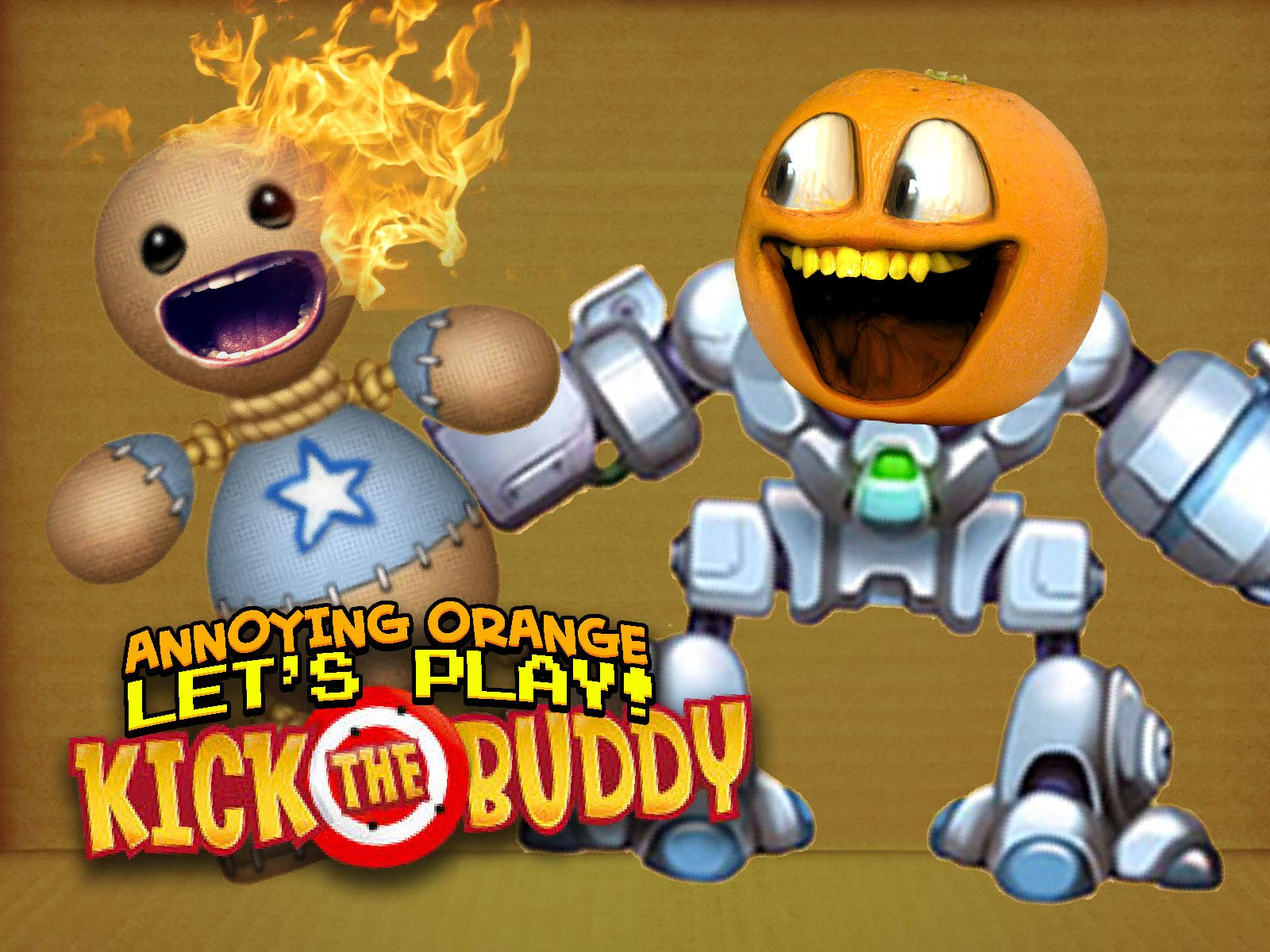 Clip: Annoying Orange plays Kick the Buddy - Season 1