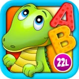 Alphabet Aquarium Vol 1: Animated Puzzle Games with Letters and Animals