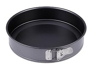 Chg 3355-00 - Molde para tartas con superficie antiadherente (28 cm, altura de 7 cm)   Comentarios de clientes y más Descripción