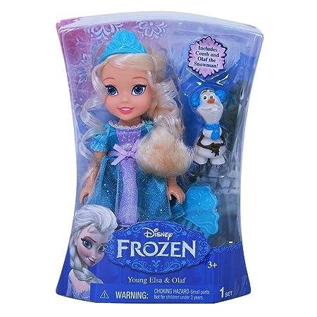 La Reine des Neiges et Anna (Disney FROZEN) Elsa et Olaf (Elsa & Olaf) chiffre