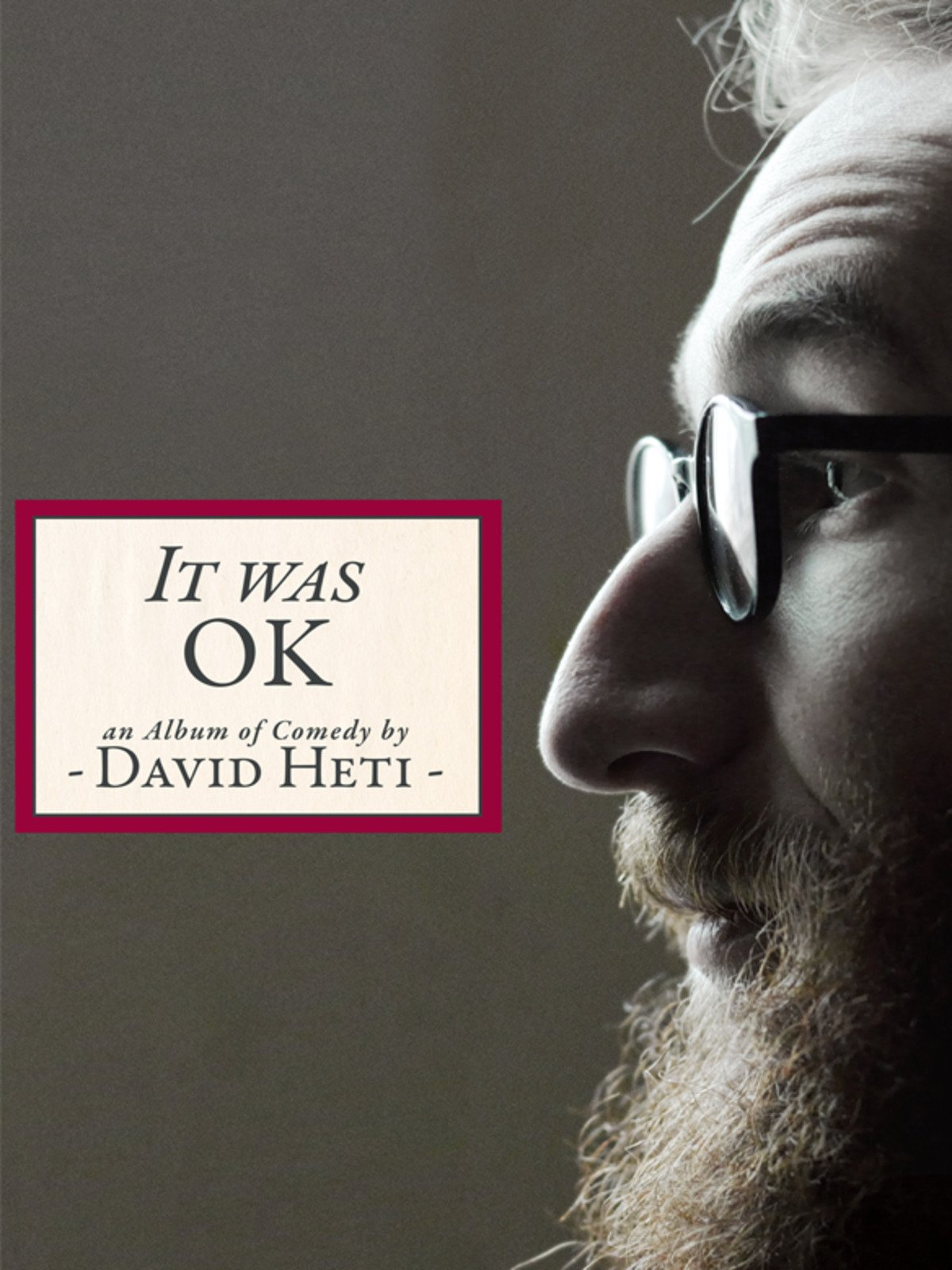 David Heti: It Was Ok, An Album of Comedy by David Heti