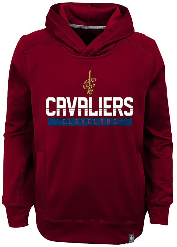 NBA by Outerstuff NBA Kids /& Youth Boys Cleveland Cavaliers Stated Full Zip Fleece Hoodie 10-12 Youth Medium Navy