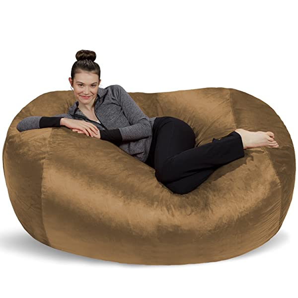 Cool Sofa Sack Plush Bean Bag Sofas With Super Soft Microsuede Pdpeps Interior Chair Design Pdpepsorg