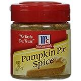 McCormick  Pumpkin Pie Spice (Pumpkin Flavored Fall Spice), 1.12 oz