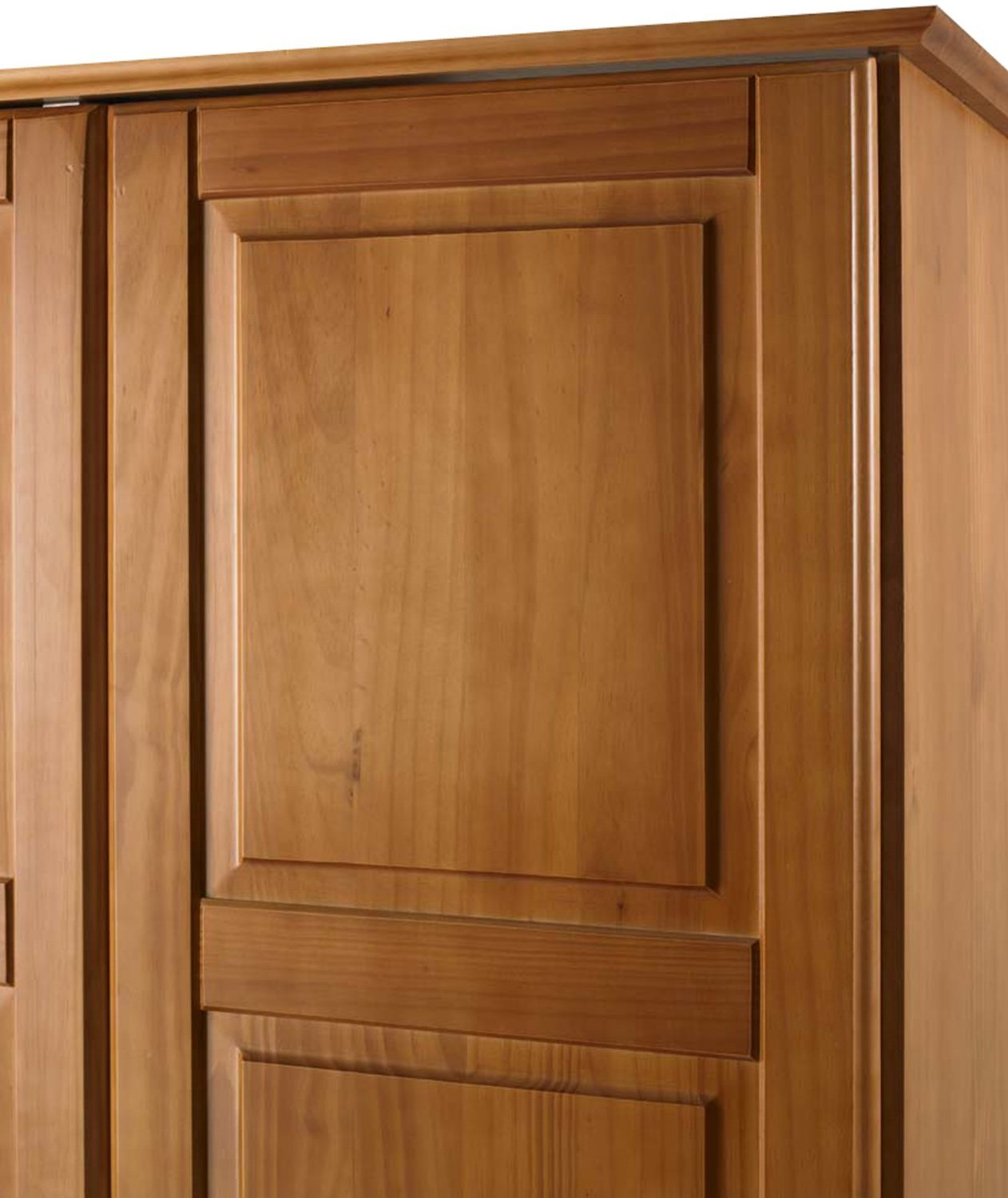 Solid wood universal wardrobe armoire closet by palace