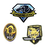 GrayCell Military Morale Diamond Dogs and Metal Gear Solid Fox Patch (G) (Color: G)
