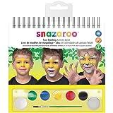Snazaroo Face Painting Activity Book (Color: multicolor, Tamaño: 7ml)