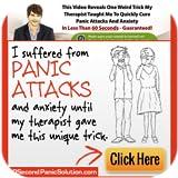 60 Second Panic Solution