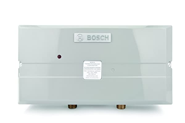 Bosch Electric Tankless Water Heater - Eliminate Time for Hot Water - Easy Installation (Tamaño: 3.4 kW)