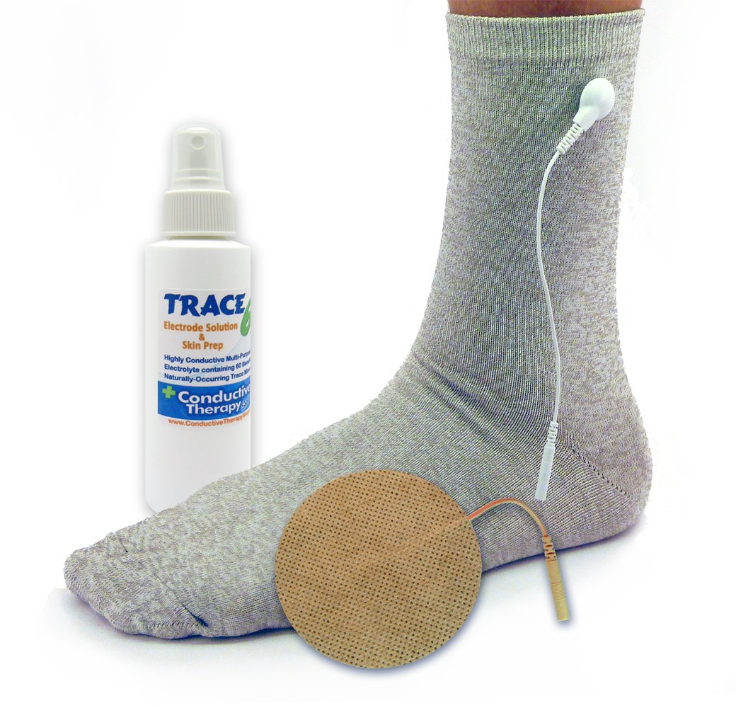 Conductive Sock Package by Conductive Therapy Shop