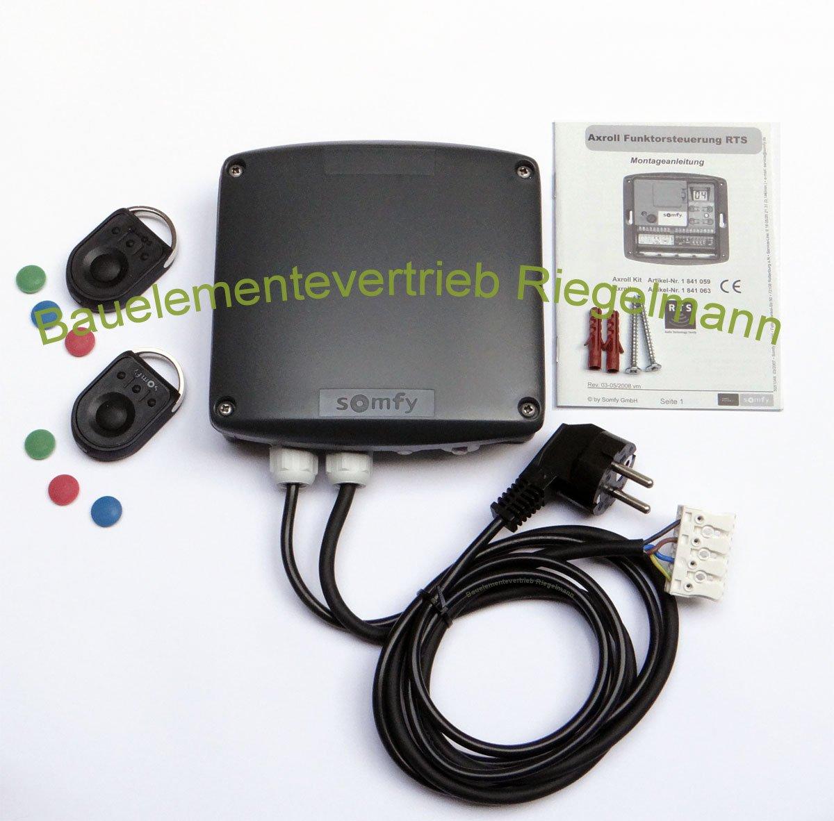Funksteuerung Somfy Axroll RTS mit 2 Stück 4 Kanal Fernbedienungen  BaumarktKundenbewertung und weitere Informationen