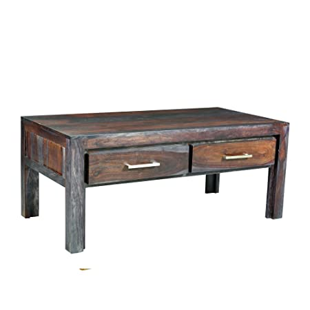 Yosemite Home Decor YFUR-SBA109 Rectangular Coffee Table, Rosewood