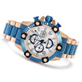 Invicta Mens Reserve Arsenal Swiss Made VALJOUX 7750 Automatic Blue Style TT Watch 13983