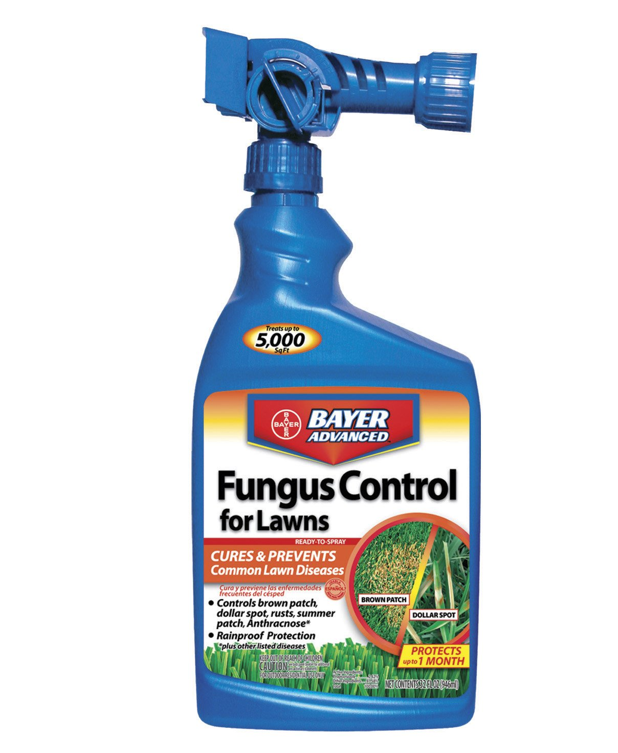 Bayer advanced 701270 fungus control for lawns ready to for Bayer garden
