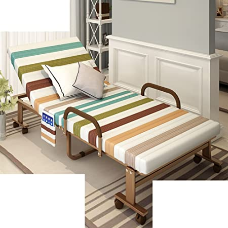 Folding bed/single lunch bed/ double , bureau ,lit nap/lit furtif/lit avec lit simple/lit pliant pour adultes-J