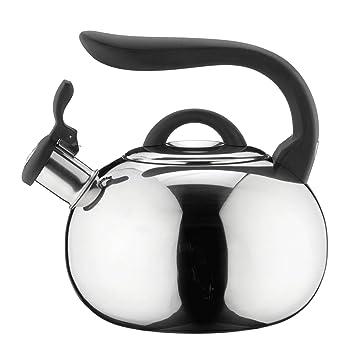 grunwerg htk 377m bouilloire bouilloire sifflante en inox effet miroir 3 3 l cuisine. Black Bedroom Furniture Sets. Home Design Ideas