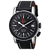 Glycine Men's 3927-191-LB9B Airman Analog Display Swiss Automatic Black Watch