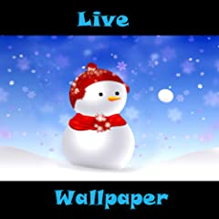 Live Wallpaper Snowball Snowman