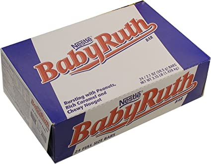 Ruth Candy Baby Ruth Candy Bars 24ct