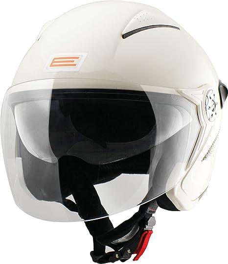 Origine helmets 202529018100004 Casque Falco, Taille : M, Brillant Blanc