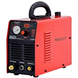 HeroCut CUT45i 220V Plasma Cutter 40Amp Air Plasma Cutting machine 10mm Clean Cut, 14mm Severance cut in 220v 70PSI (Color: Red)