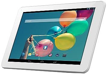 "Odys Ieos Quad Pro Office Edition Tablette Tactile 10,1"" (25,65 cm) (16 Go, Android KitKat 4.4, 1 Port USB 2.0, 1 Prise jack, Blanc)"