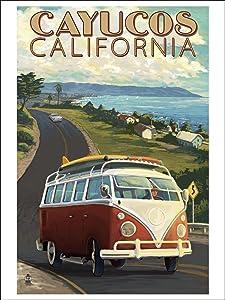 Cayucos, California poster