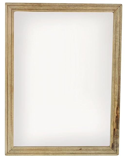 La stella wood wall mirror x cm x cm cm for Mirror 45 x 60