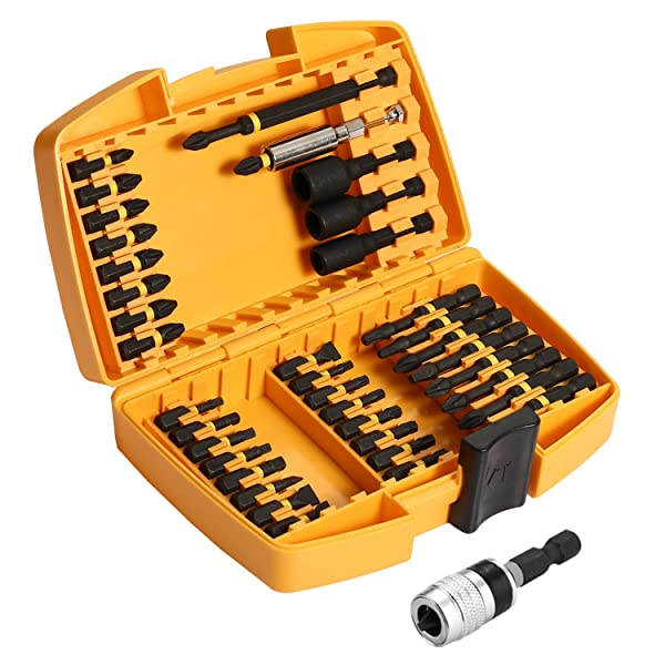 DEKO Screwdriver Bit Set,40 Piece Magnetic Impact Driver Bit Set
