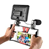 Ulanzi Smartphone Video Stabilizer Phone Movies &Filmmaker Rig Handle Grip for Apple IPhone 5, 5C, 5S, 6, 6S, 7 (Regular and Plus), Samsung,HTC, Huawei, Google, Android Smartphones..