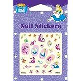 Disney Nail Art stickers Cartoon Decoration Mix 4-Pack (Alice & Sophia & Marie Cat) (Color: Alice & Marie Cat)