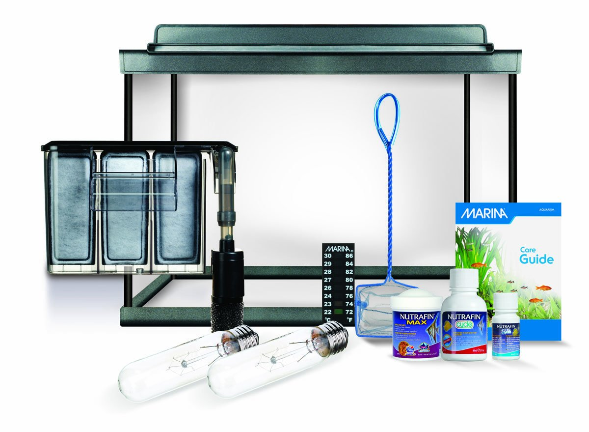 Marina Style 10 Deluxe Aquarium Kit, 10 Gallons