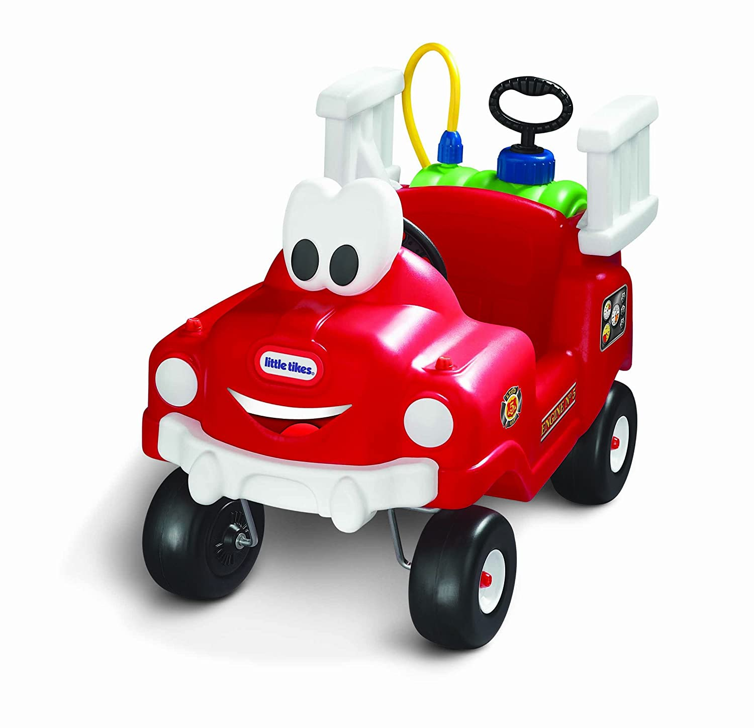 An Image of Little Tikes Spray and Rescue Fire Truck