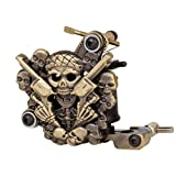 GotHobby Empaistic Pro Skull Tattoo Machine Gun 10-wrap Coils for Liner / Shader