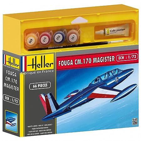 Heller - 50220 - Maquette - Avion - Echelle 1/72 - Fouga Magister Cm 170