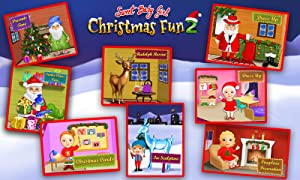 Sweet Baby Girl Christmas Fun 2 - Santa's Village & Winter Crafts by TutoTOONS