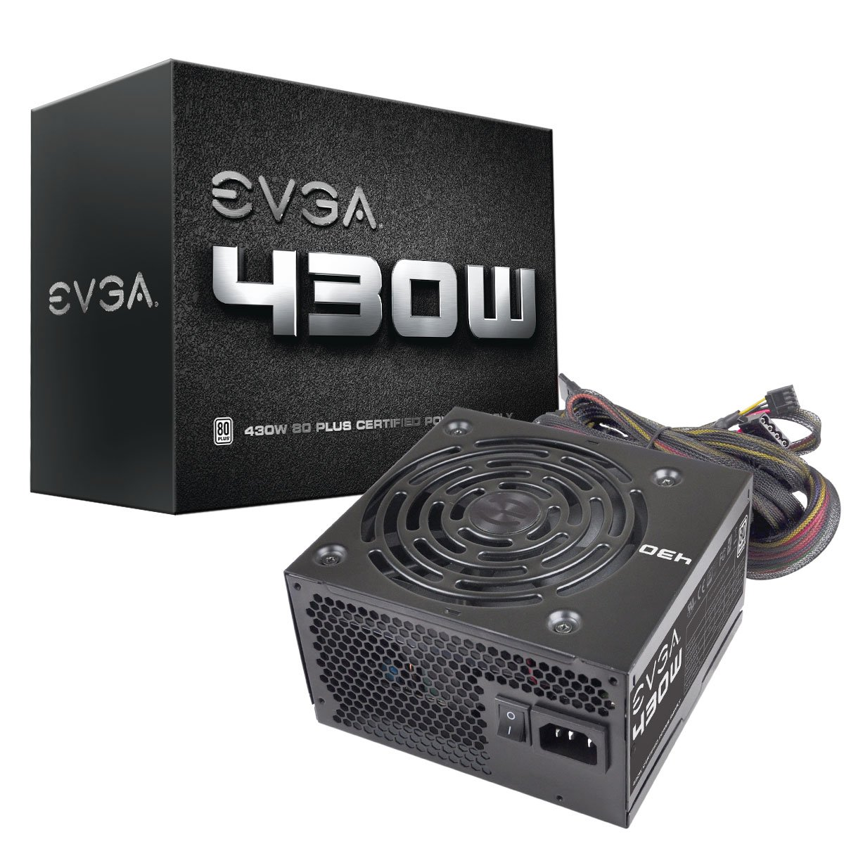 EVGA 430 Watts 80PLUS Power Supply