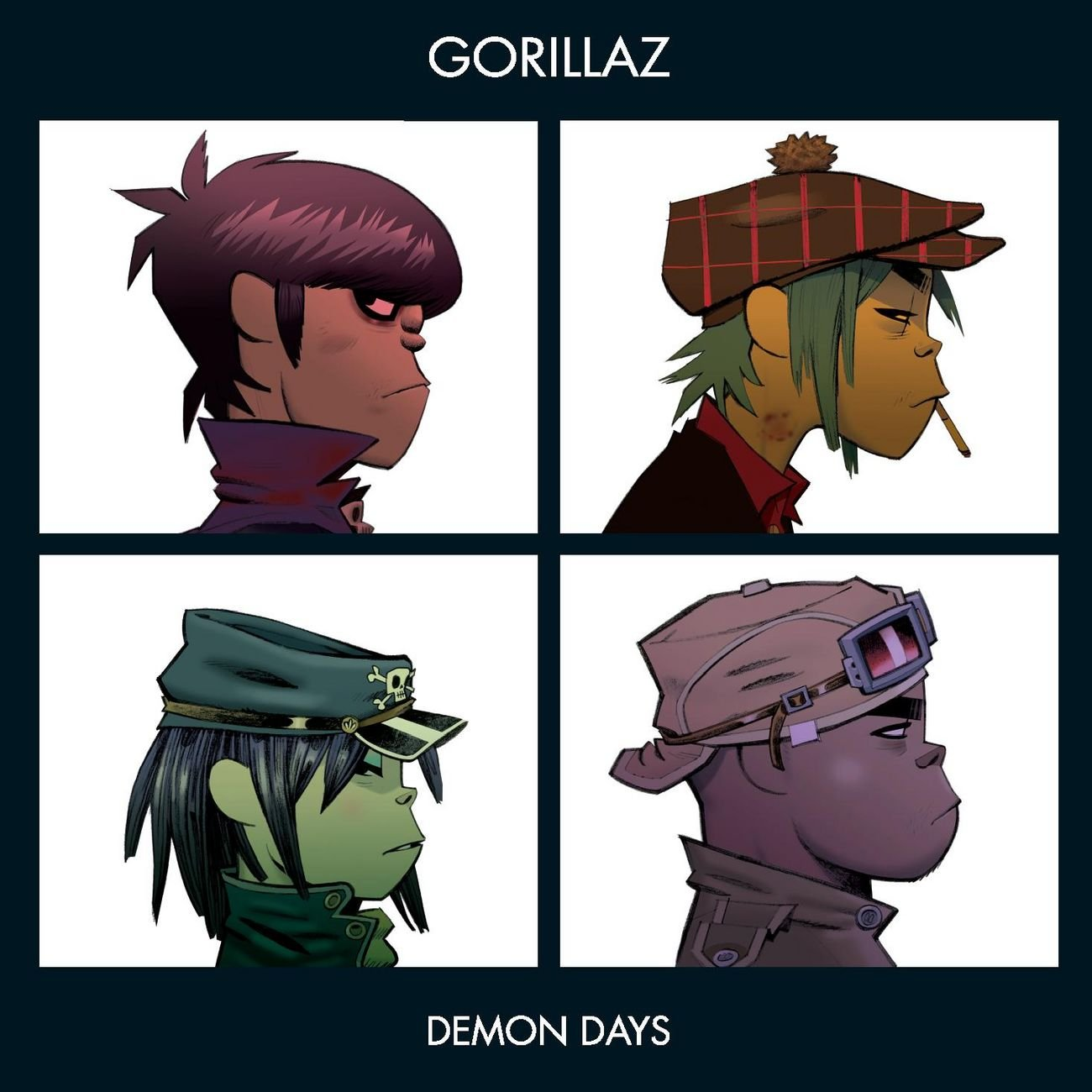 Y Gorillaz Demon Days