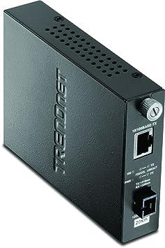 TRENDnet TFC-110S20D3i Convertisseur 200 Mbps Noir