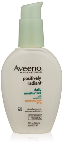 Aveeno Positively Radiant Daily Moisturizer SPF 15 Reviews