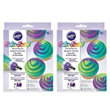 Wilton ColorSwirl 3-Color Coupler 9-Piece Decorating Kit, 2 pack (Color: Multicolor)
