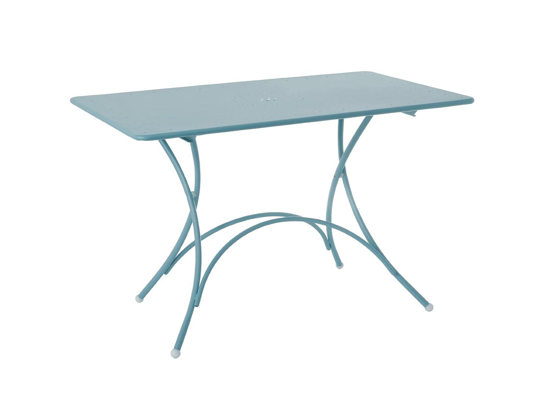 Emu 309033600N Pigalle Klapptisch 903, 120 x 76 cm, pulverbeschichteter Stahl, himmelblau
