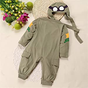 Baby Boys Pilot Two Piece Layette Set Toddler Outfits with Cap by LOOLY Royal Green