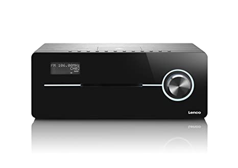 Lenco DR-88 BT BLACK Radio portable Noir