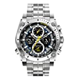 Bulova Men's 96B175 Precisionist Stainless Steel Watch (Color: Stainless, Tamaño: One Size)