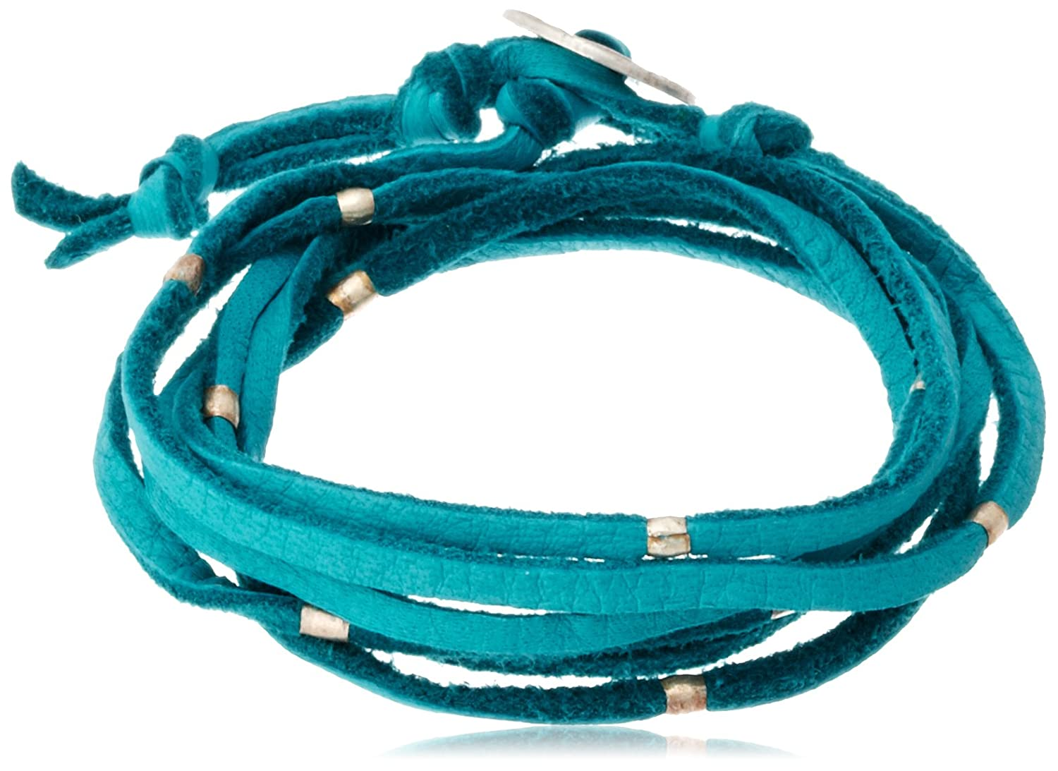 Amazon.co.jp: [ブロンウェン] bronwen SuedeLeather Wrap 1010TURQUOISE: ジュエリー通販