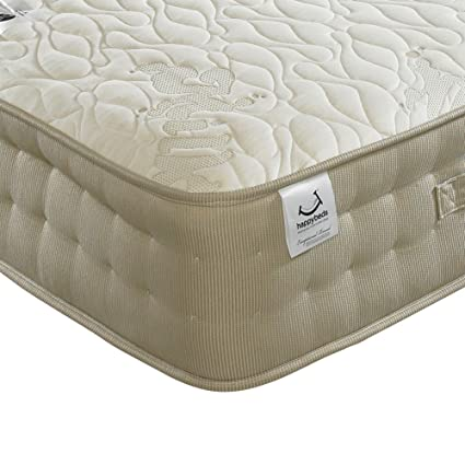 Happy Beds Milk Vitality 2000 Pocket Sprung Latex Memory Foam Mattress - Double