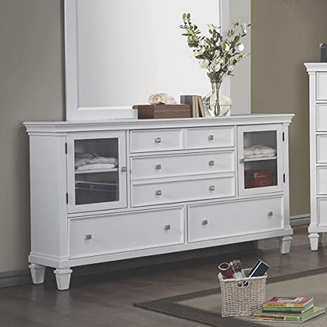 Coaster Home Furnishings 200222 Country Dresser, White