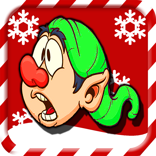 Fly Yourself Up : Elf Heads One Direction Games For Christmas - By Panda Tap Games